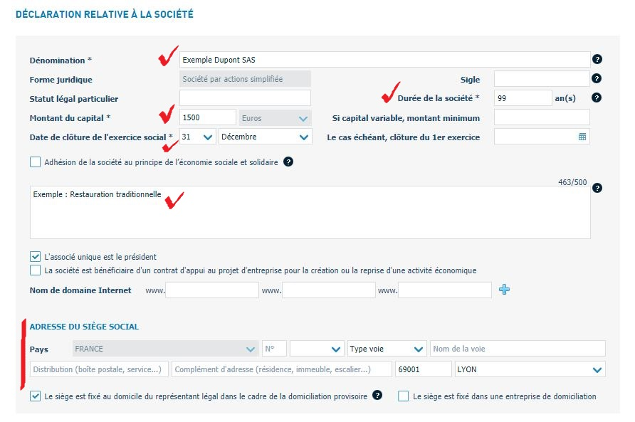 TUTORIEL : Créer une SASU en ligne sur Infogreffe